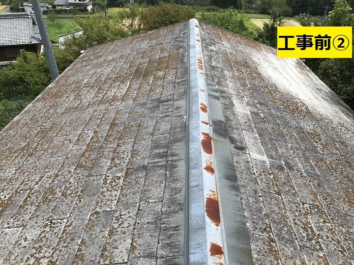 名張市 屋根改修工事前の写真②