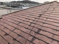 名張市 屋根カバー工法 施工前