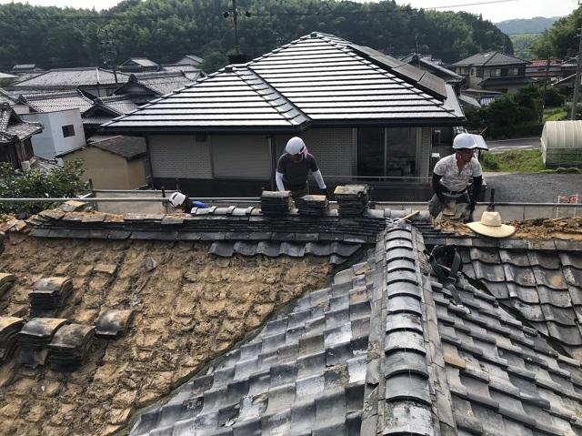 瓦下ろし 葺き替え 日本瓦