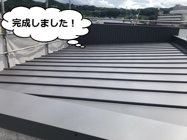 葺き替え工事 瓦棒
