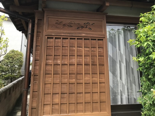 名張市外壁塗装 色落ち