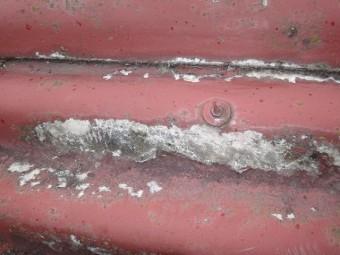 伊賀市スレート屋根塗装剥離