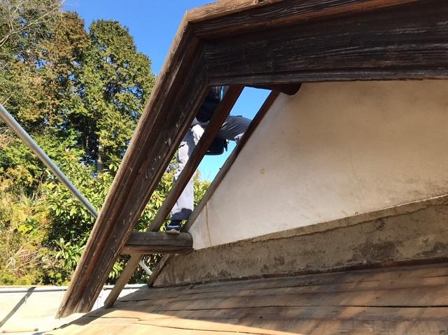 葺き替え工事 屋根下地交換