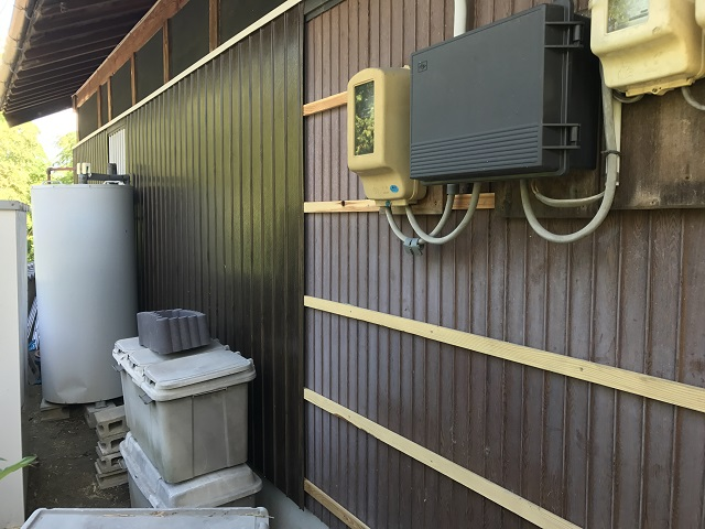 伊賀市 トタン外壁 カバー工法