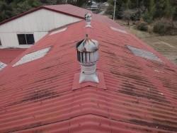 伊賀市 工場スレート屋根雨漏り