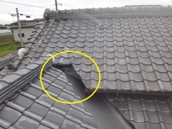 伊賀市日本瓦葺き替え工事完工検査