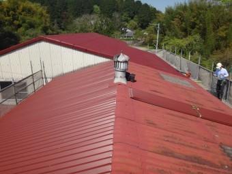 伊賀市スレート屋根金属ルーフカバー工法
