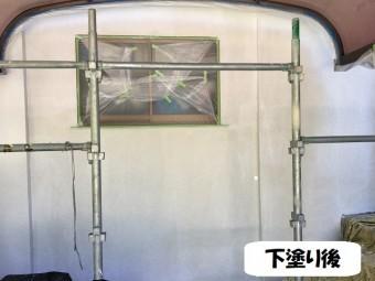 伊賀市 外壁塗り替え 下塗り
