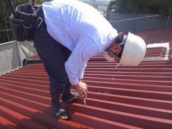 伊賀市スレート屋根葺き替え工事