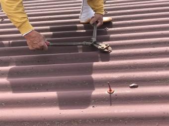 伊賀市 屋根カバー工法 下処理