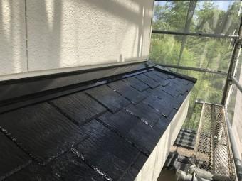伊賀市 下屋根 塗り替え後