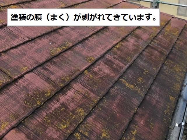 屋根 塗装 剥がれ