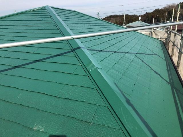 伊賀市 屋根塗り替え 完工