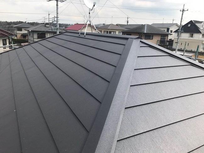 名張市 屋根葺き替え 完工