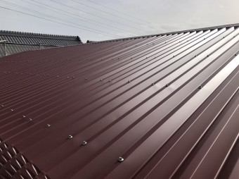伊賀市 スレート屋根 完工