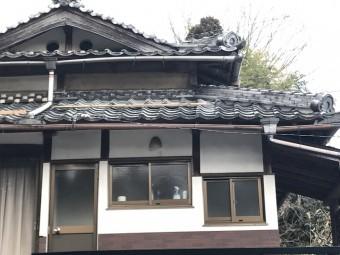 伊賀市 日本家屋の壁 修繕前