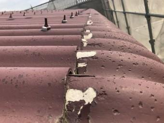 伊賀市 波型スレート屋根 剥離