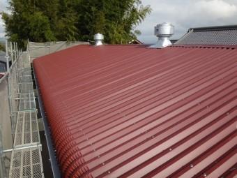 伊賀市 波型スレート屋根 雨漏り修理