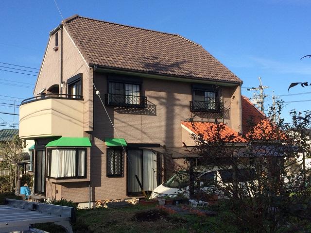 名張市 プラウドBB40ナチュラルカラー屋根葺き替え工事
