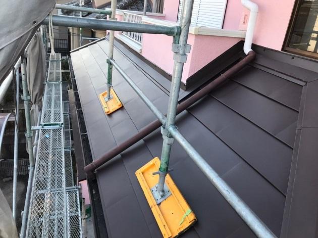 名張市 下屋根 完工写真