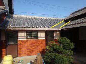 伊賀市日本瓦葺き替え完工