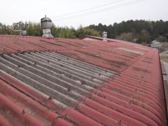 伊賀市工場スレート屋根雨漏り点検