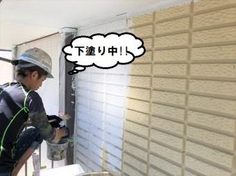 下塗り 壁
