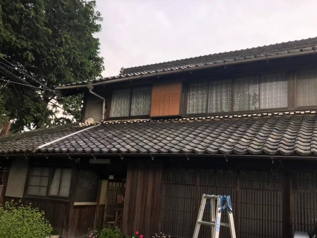 日本瓦 葺き替え工事