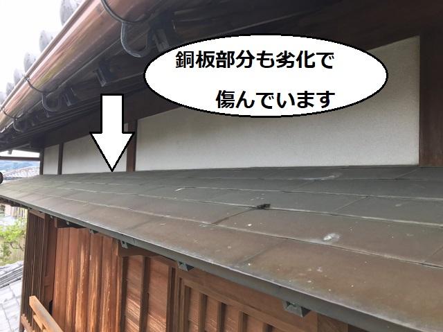銅板 劣化