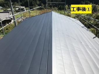 名張市 屋根改修後の写真①