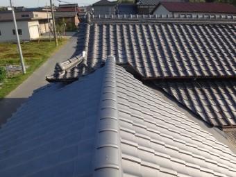 伊賀市風呂屋根日本瓦葺き