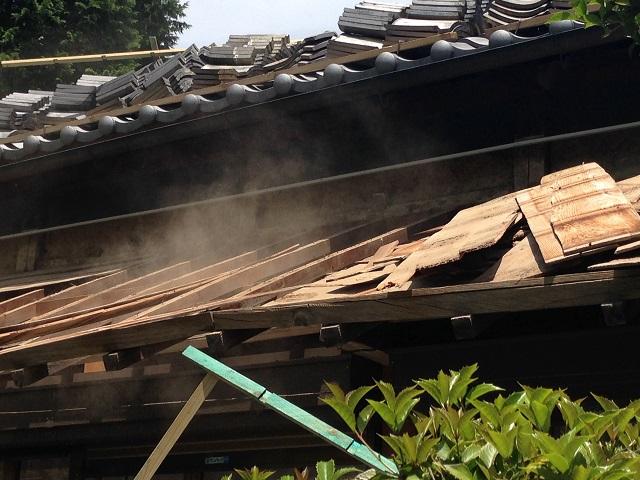 伊賀市 屋根修理 取り壊し