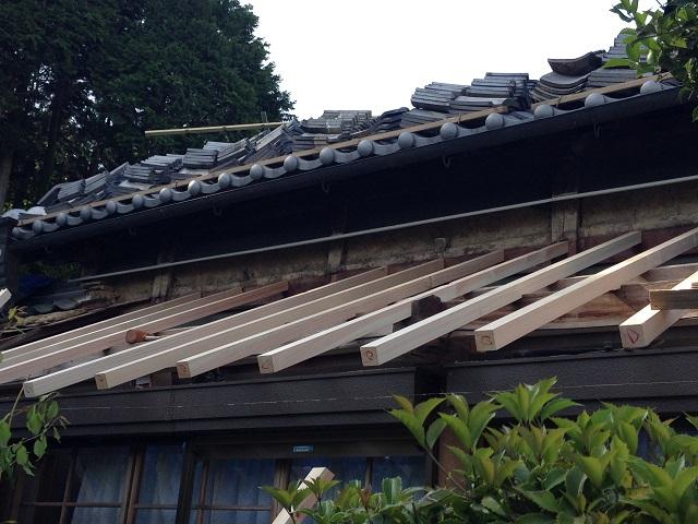 伊賀市 垂木 雨漏り修理