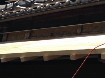 伊賀市 野地板 貼り替え