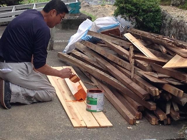 伊賀市 屋根修理 部品作り