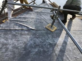 伊賀市 屋根貼り替え 防水シート