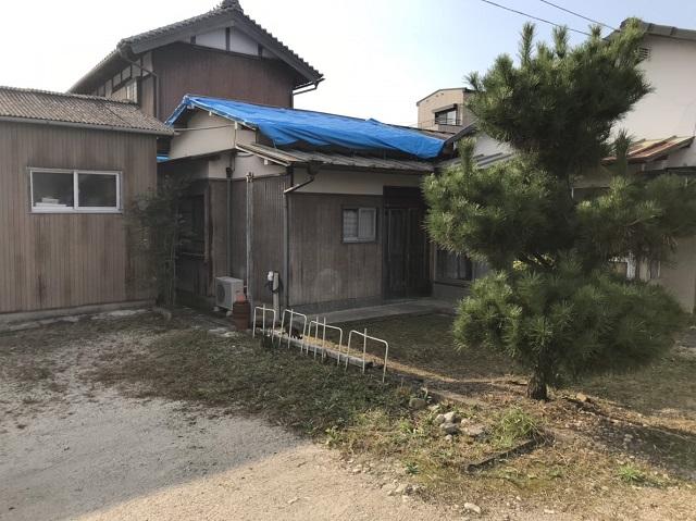 伊賀市 台風被害 ブルーシート