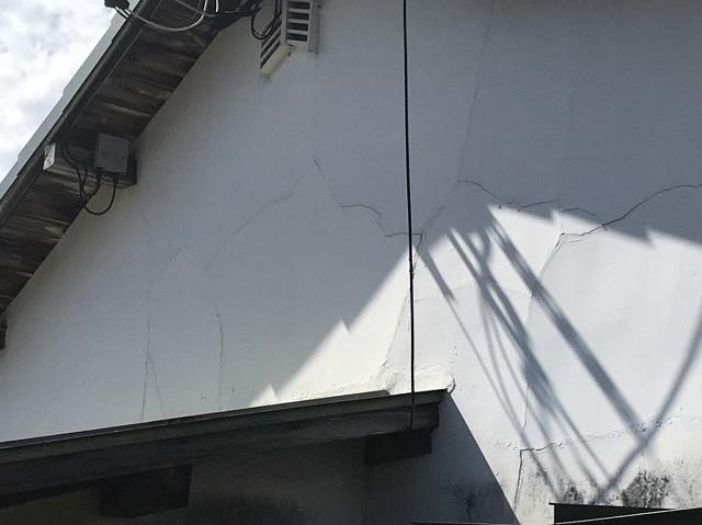 伊賀市 土壁 修理前