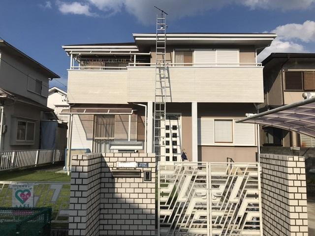 名張市 屋根点検 全体写真