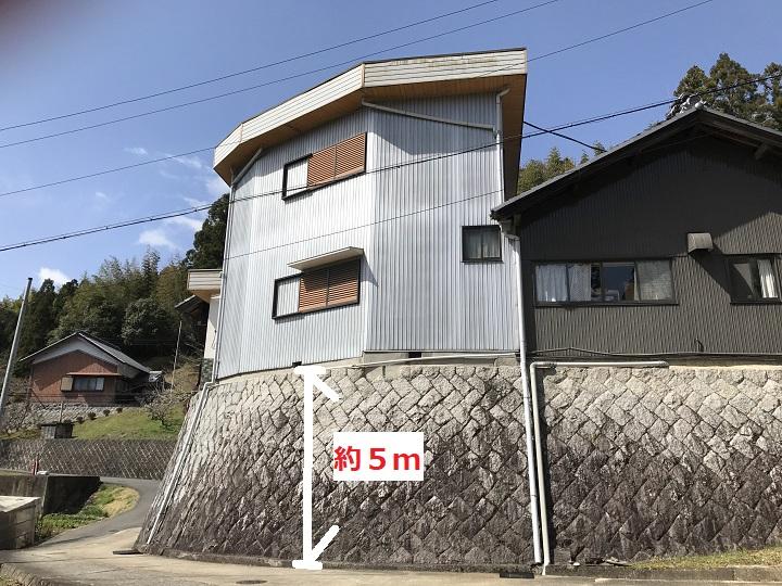 伊賀市 陸屋根・外壁塗装工事のご依頼を受け点検に伺いました