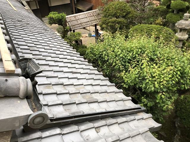 伊賀市 雨漏り修理 完工
