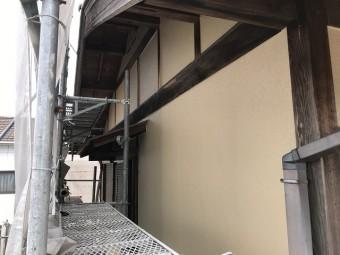 伊賀市 塗り替えリフォーム 乾燥中