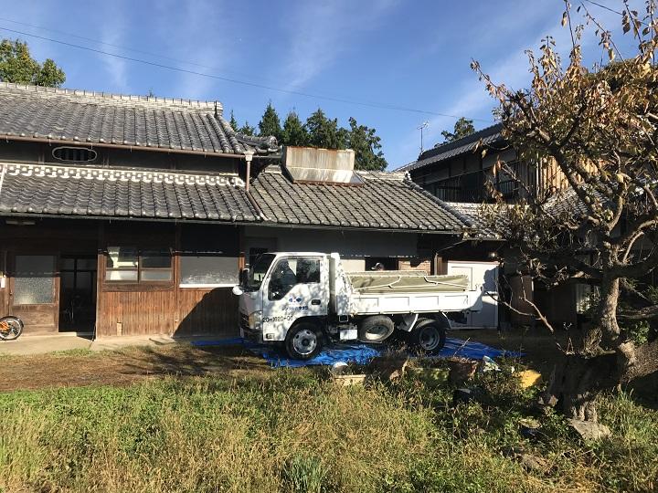 名張市 屋根工事前の写真