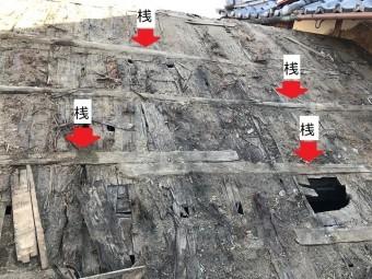 名張市 屋根の構造 桟