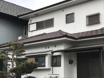 伊賀市 下屋根葺き替え完工写真