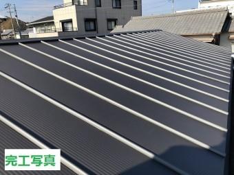 伊賀市 トタン屋根 完工