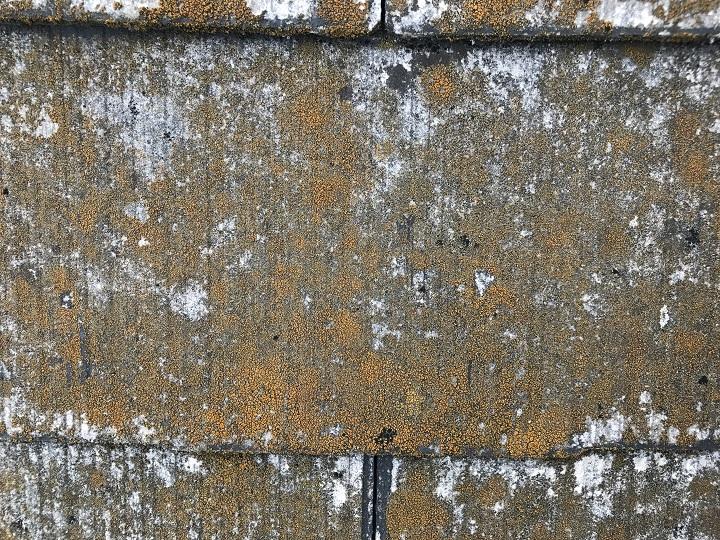 名張市 カラーベスト屋根の点検(側面拡大)