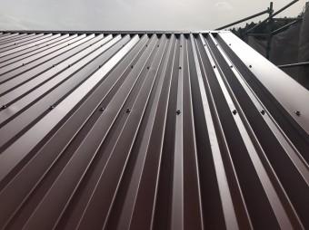 伊賀市 屋根カバー工法 完工