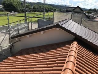名張 屋根 完成