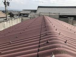 伊賀市 工事前 倉庫の屋根